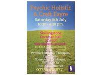 Psychic Holistic & Craft Fayre Shillingstone DT11 0SF
