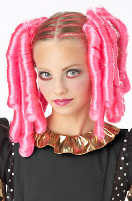 Halloween Costumes With Pink Wigs (Anime Curls with Hairscara Halloween Costume Wig)