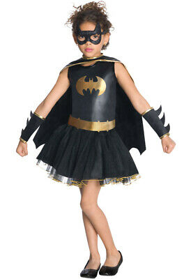 Brand New Batman Batgirl Tutu Toddler/Child Costume