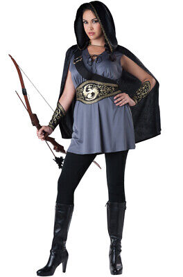 Hunger Games Catching Fire Costumes (Brand New Huntress Catching Fire Hunger Games Plus Size)