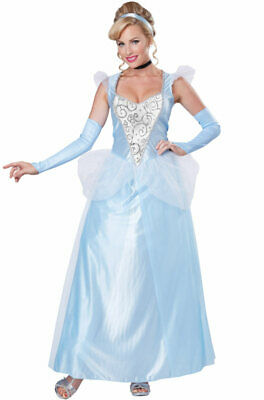 Brand New Classic Cinderella Princess Adult Costume](Cinderella Costume Adults)
