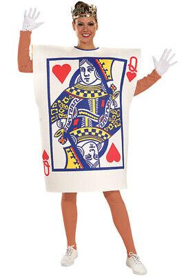 Queen Of Hearts Card Costume (Queen of Hearts Card Adult Halloween)