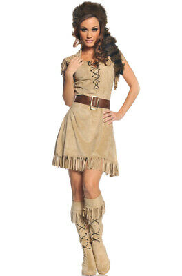 Western Cowgirl Outfit (Brand New Western Cowgirl Wild Frontier Women Outfit Adult)
