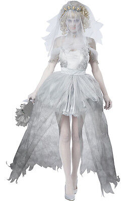 Disney Haunted Ghostly Bride Dead Wedding Adult - Dead Disney Costumes