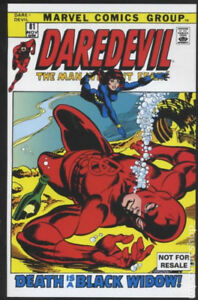 Daredevil #81 Reprint Black Widow First Appearance Marvel