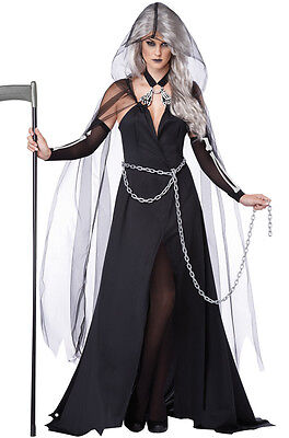 Lady Reaper Gothic Horror Adult Women Costume - Horror Gothic Costumes