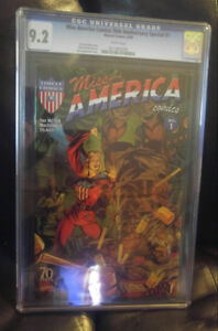 CGC 9.2 Miss america comics 70th anniversary speacial # 1