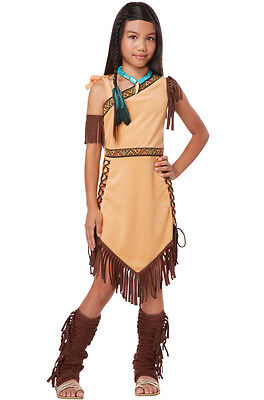 Indian Native American Princess Pocahontas Outfit Girls Child - Pocahontas Costume Girls