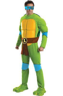 Brand New Teenage Mutant Ninja Turtles Deluxe Leonardo Adult (Deluxe Adult Ninja Kostüm)