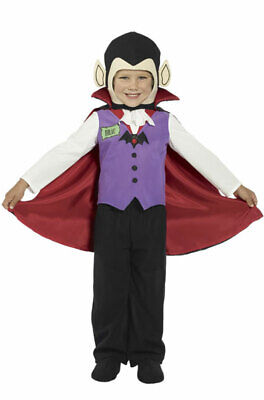 Dracula Vampire Toddler Halloween Costume - Toddler Dracula Halloween Costume