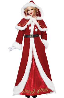 Mrs Santa Costume (Brand New Deluxe Mrs. Santa Claus Christmas Adult)