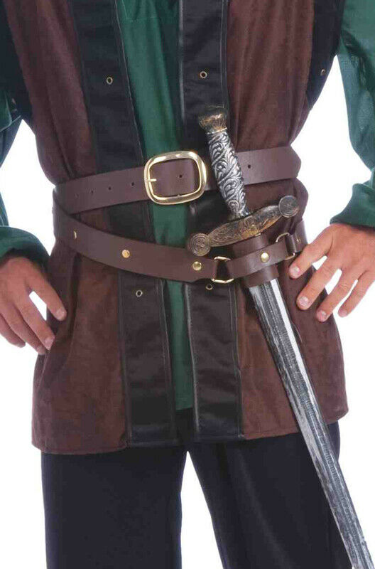 Brand New Robin Hood Renaissance Medieval Belt Costume Accessory