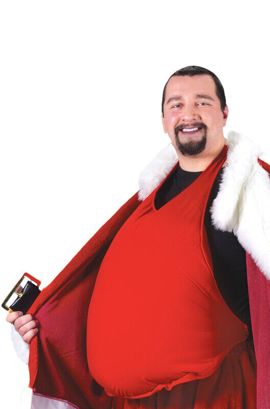 Brand New Christmas Santa Claus Belly Costume Accessory