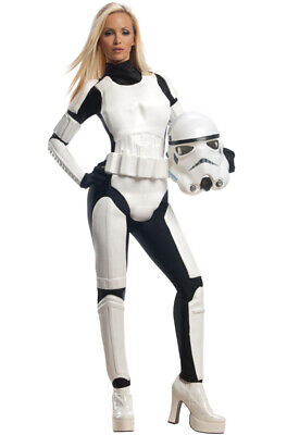 Brand New Star Wars Stormtrooper Female Adult Costume](Female Storm Trooper)
