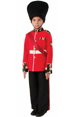 Brand New British Palace Guard Soldier Child Costume (L)](Palace Guard Costume)