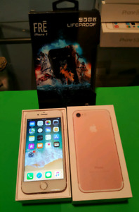 Unlocked rose Gold iPhone 7 32GB