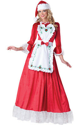 Brand New Santa Claus Women Dress Up Outfit Adult Costume