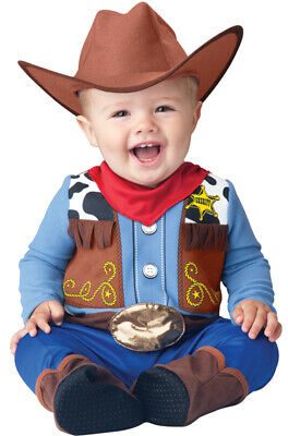 Western Baby Halloween Costumes (Brand New Wee Wrangler Western Cowboy Infant/Toddler Halloween)