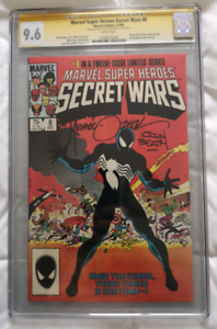 Secret wars 8 cgc 9.6 signed!