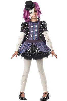 Monster High Childrens Costumes (Broken Doll Phantom Monster High Child)