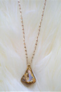 SUMMER SALE  *** BRAND NEW GENUINE Stone Necklace with Chain