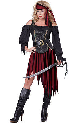 Sexy Queen Of The High Seas Pirate Adult - Pirate Queen Sexy Kostüm