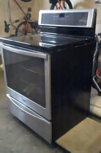 """WHIRLPOOL INDUCTION COOKTOP CONVECTION RANGE 30"""""""