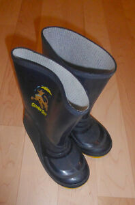 Rubber boots kids size 10 and 12, $ 4 per pair