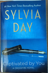 New Sylvia Day Captivated By You Book Signed By the Author WON