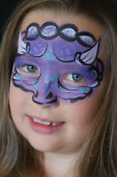 FACEPAINTING FOR KIDS PARTIES. AFFORDABLE FACE PAINTING