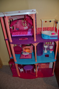 FOR SALE: Barbie Dream House doll house