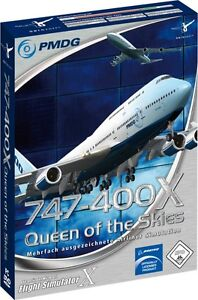 PMDG BOEING 747-400X Queen of the Skies for FSX