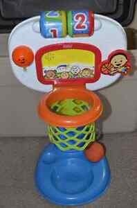 Free Fisher Price basketball toy