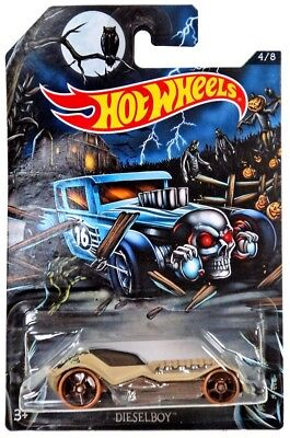 Hot Wheels Happy Halloween! Dieselboy Die-Cast Car #4/8