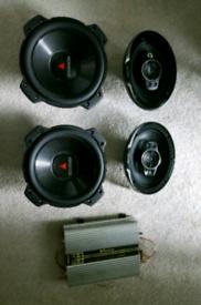 Car amplifier sound system