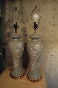 PAIR OF DESIGNER TABLE LAMPS & MORE LAMPS West Island Greater Montréal image 4