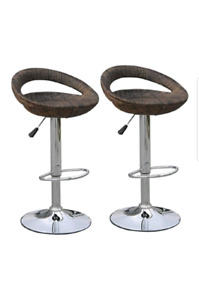 Homcom Set of 2  Barstools