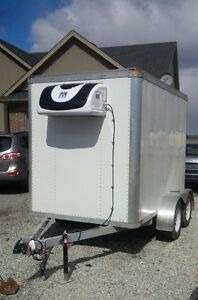 Cooler and Freezer trailers