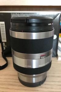 Sony E mount 18-200mm F3.5-6.3 OSS lens