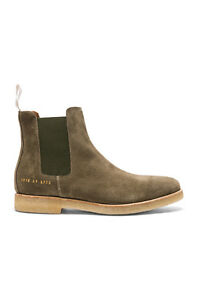 BRAND NEW Common Projects Chelsea Boots in Olive - Size 42(9 US)