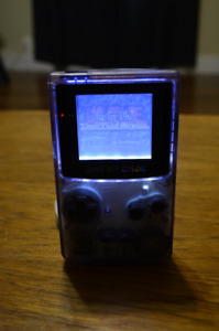 Modded Nintendo Gameboy Color