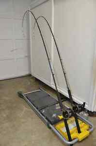 DOWNRIGGER POLES & REELS Kitchener / Waterloo Kitchener Area image 1