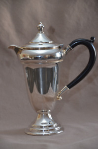 Vintage Coffee Pot Silver Plate