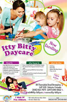 ITTY BITTY DAYCARE& PRESCHOOL- BRAND NEW, CPR/FIRST AID TEACHERS
