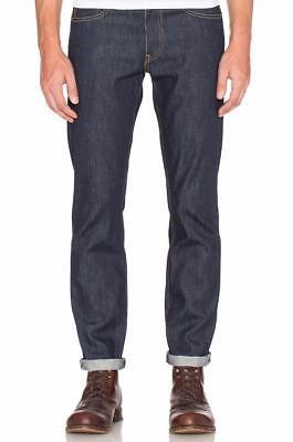 Mua new levis strauss mens premium slim fit selvedge denim blue jeans giá rẻ