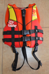 Child BODY GLOVE  life jacket up to 60lb