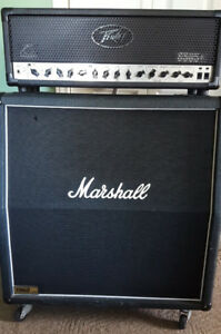 Peavey 6505+ head and Marshall 1960 Lead