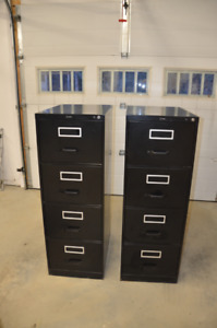 2 Legal size filing cabinets