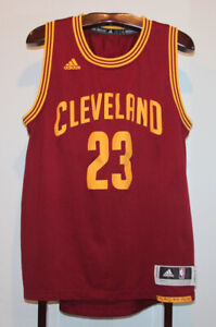 ADIDAS LEBRON JAMES CLEVELAND CAVALIERS ROAD BASKETBALL JERSEY