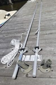 For Sale - Dock Edge Mooring Whips - Model 3400F
